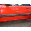 Peugeot 205 GTI N/S Door Bodykit Trim Red Insert